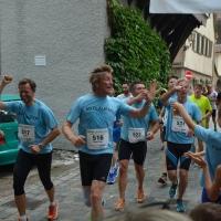 Mitläufer beim EZ-Lauf