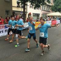 tradition-ES Mitglieder beim Lauf