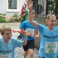 Mitläuferle beim EZ-Lauf