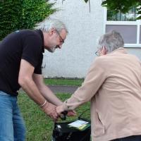 Ein persönlicher Umgang mit den Senioren ist für tradition-ES Mitglieder sehr wichtig