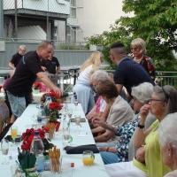 Das Sommerfest für die Senioren im Wohnstift Radäcker fängt gleich an