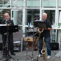 Die Jazz-Band ES-music-Fans haben zur guten Stimmung beigetragen