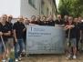 Verschönerung der Außenanlagen im Pflegeheim Hohenkreuz 2017