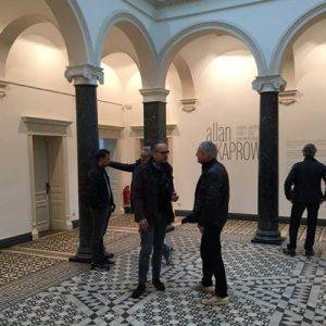tradition-ES in der Welt der Kunst der Villa Merkel