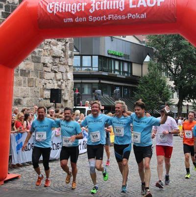 Der EZ-Lauf 2017 durch die Esslinger Altstadt:  Rückblick auf eine erfolgreiche Mission
