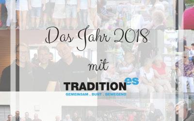 Jahresrückblick: Soziales Engagement von tradition-ES 2018